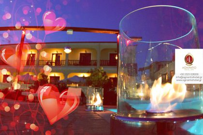 Why choose Agnantio Hotel as your Valentine's Day destination