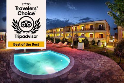 Agnantio Hotel Spa Wins 2020 Tripadvisor Travelers