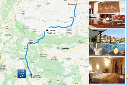 Road trip from Romania to Greece