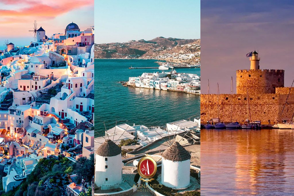 The 3 Most Visited Greek Islands