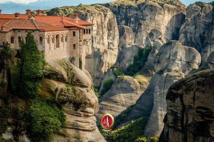 Meteora, monasteries reaching towards the sky